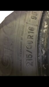 215/60R16 95 winter tires (4)