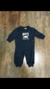 Roots 3-6 month Romper