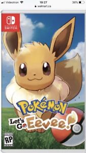 RECHERCHE Pokemon Eevee Nintendo Switch