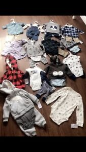 Brand new carters baby boy lot!!!