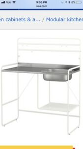 Ikea kitchen/laundry unit