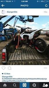 Done up 450 trade for summit 800 or 2 stroke bike
