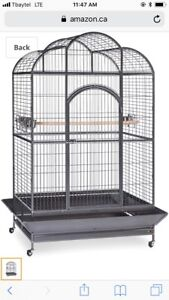 Wanted parrot cage or macaw cage