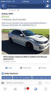Subaru WRX Clapham Mitcham Area Preview