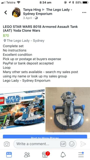 Lego Star Wars Aat Toys Indoor Gumtree Australia Ku Ring Gai
