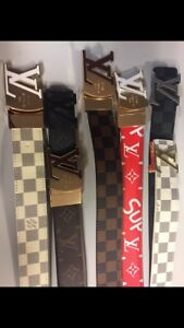 SELLING ALL BRAND DESIGNER BELTS