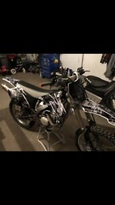 Sell or trade yz250f dirt bike