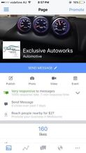 Exclusive Autoworks For all your car needs Roxburgh Park Hume Area Preview