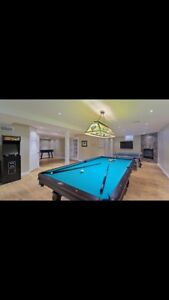 Tiffany Pool Table  Light