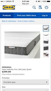 IKEA Morgedal Queen Mattress
