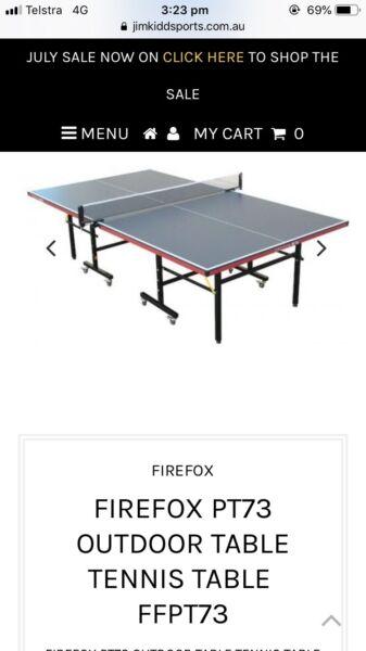 Table tennis Firefox PT73 | Racquet Sports | Gumtree Australia