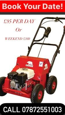 hollow tine lawn aerator Befordshire
