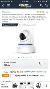Security Camera/Baby Monitor