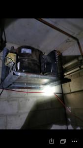 freezer. Main engine (compressor) for commercial use