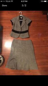 Women's blazer and skirt