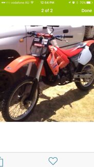 Honda cr 250 2 stroke. 1990 Eglinton Wanneroo Area Preview