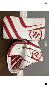 WARRIOR RITUAL PRO GOALIE GLOVE & BLOCKER