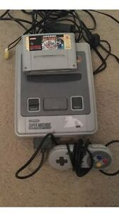 Super Nintendo with all cords controlled and Marko All Stars Bunbury Bunbury Area Preview