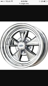 Looking for a set of Cragar wheels 5x4.75 bolt pattern
