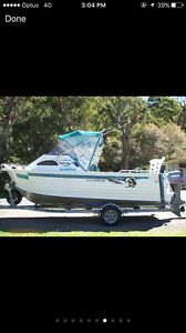 WANT TO BUY ALLY CRAFT 610 COASTAL  BOAT Green Valley Liverpool Area Preview
