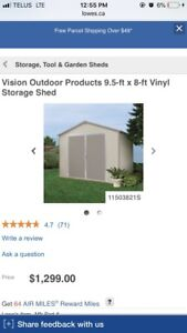 Vision products shed