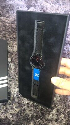 Worn Twice - District_M1 Black & Rose Gold Edition Adidas Watch