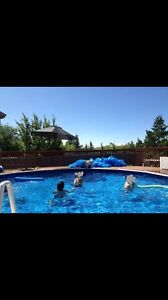 House for sale in Beaumont with salt water swimming pool