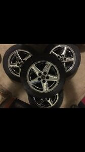 Nice wheels for sale.    Set of 4.    200.00 London Ontario image 1