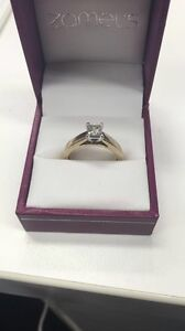 9ct Gold 50PT Engagement Ring Canterbury Canterbury Area Preview