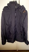 Superdry Windcheater Grey/Orange Jacket LARGE Annandale Leichhardt Area Preview