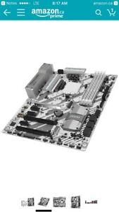 MSI Tomahawk Arctic Z270 motherboard