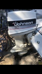 Johnson 60 hp outboard motor NEED GONE