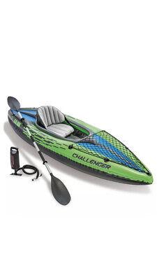 Intex kayak con Garanzia, gonfiabile Challenger k1