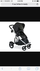 Britax b ready stroller with 2nd seat