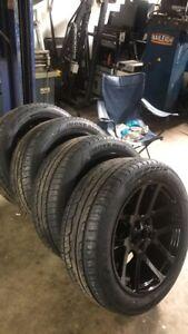 """22"""" srt viper Dodge Ram rims&tires"""