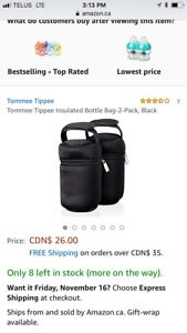 3 insulated bottle bags
