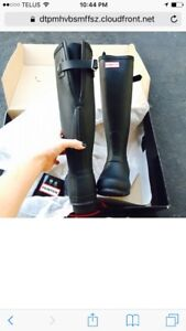 Looking for hunter boots size 9