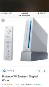 Wii Console, remote, drawing board, games ect