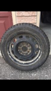 SNOW Tires! Mounted On Rims!