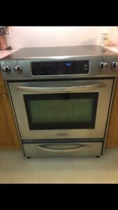 Kitchen Aid convection oven / ceramic top