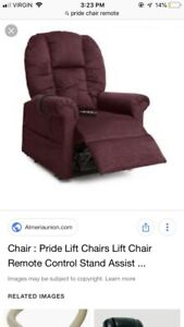 Pride lift chair