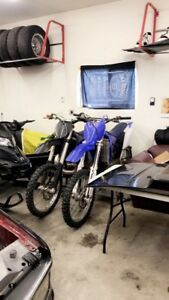 2 dirt bikes for sale