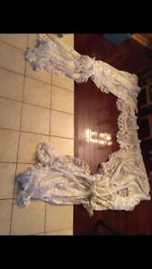 Curtains / Sheers 3 pc set