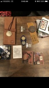 Coin/stamp collection lot