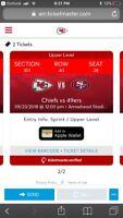San Francisco 49ers @ Kansas City Chiefs