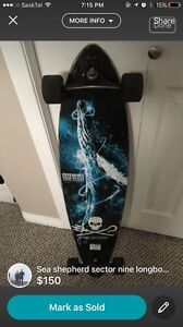 Sector nine Sea Shepard longboard