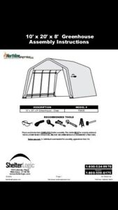 Shelter logic shed