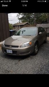 2007 certified Chevy Impala in excellent condition