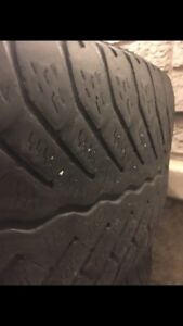 Winter tires with rim -Nissan Altima - 205/55 R 16