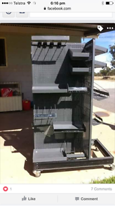 Steel display stand Coes Creek Maroochydore Area Preview